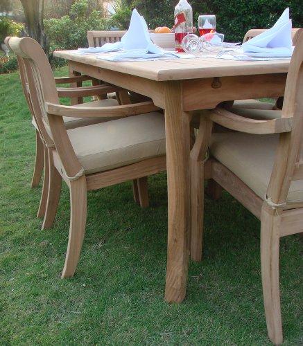 11 Pc Luxurious Grade-A Teak Dining Set