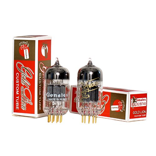 Genalex Gold Lion 12AU7 / ECC82, Matched Pair (2 tubes)
