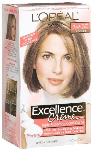 L'oreal Excellence Cream 7 1/2A Medium Ash Blonde Hair Color