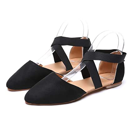 5ef3eb42cf640 Amazon.com: Women's Sandals Bummyo Ladies Sandals Fashion Flat ...