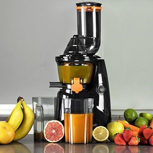 Mastercheff Licuadora de prensa fría para frutas y verduras ...