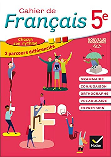 Amazon Fr Cahier De Francais 5e Ed 2016 Cahier De L