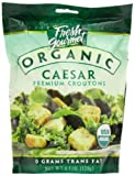 Fresh Gourmet Specialty Croutons, Organic Caesar, 4.5 Ounce (Pack of 9)