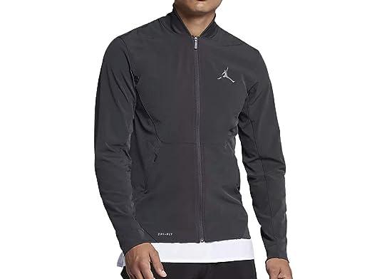 29c9e3854225a0 Nike Air Jordan Ultimate Flight Basketball Jacket Grey 861500 060 at ...