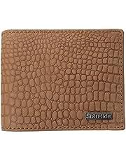 STARHIDE Mens RFID Blocking Embossed Croco Genuine Distressed Hunter Leather Wallet 1200