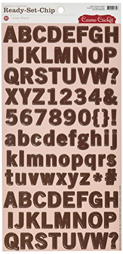 (Cosmo Cricket Iron Port Ready Set Chipboard Stickers, 6-Inch-by-12-Inch)