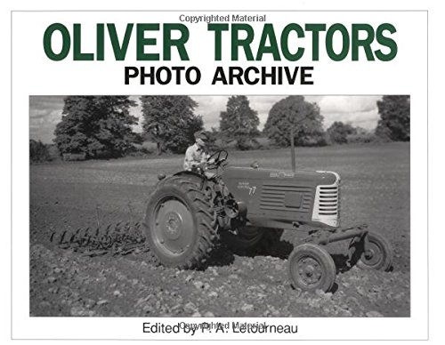 Oliver Tractor: Photo Archive : Photographs from the Floyd County, Iowa Historical Society; Bakken and Higgins Collections of the Shields Library, U (Photo Archives)
