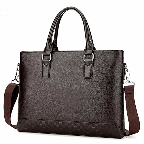 Cross Black al Hombre Cross para Bolso Brown Hombro Surnoy gwTXqxYB4