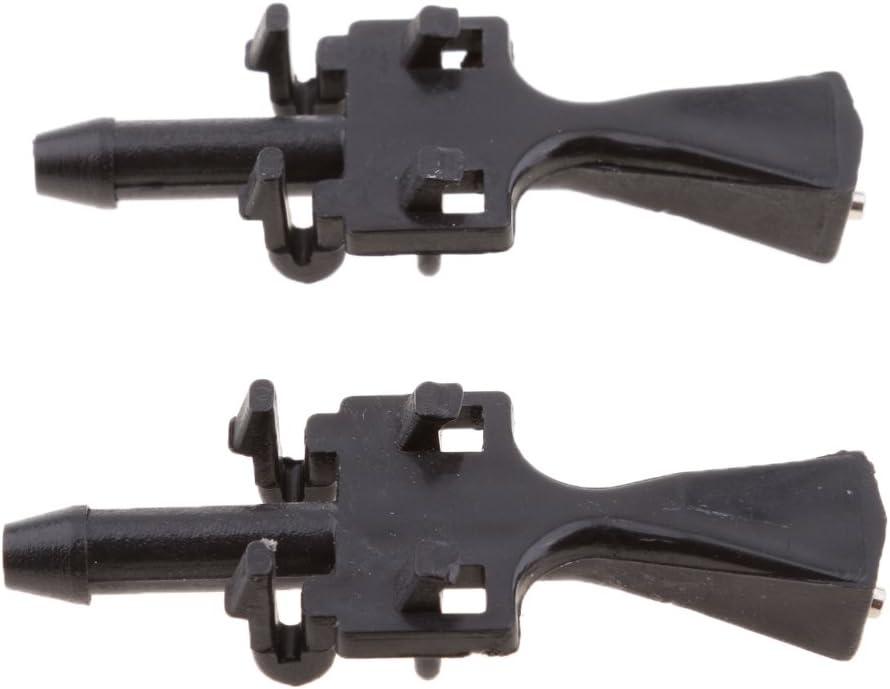 Shiwaki 1 Paire De Becs Dessuie-Glace pour Lave-Glace pour Vauxhall//Opel MERIVA-A 03-10