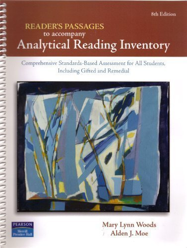 Analytical Reading Inventory: Readers' Passages