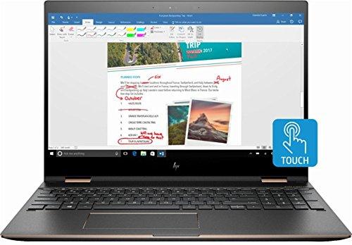 HP Spectre x360 15.6in Touch-Screen Laptop 16GB/512GB SSD (Renewed)