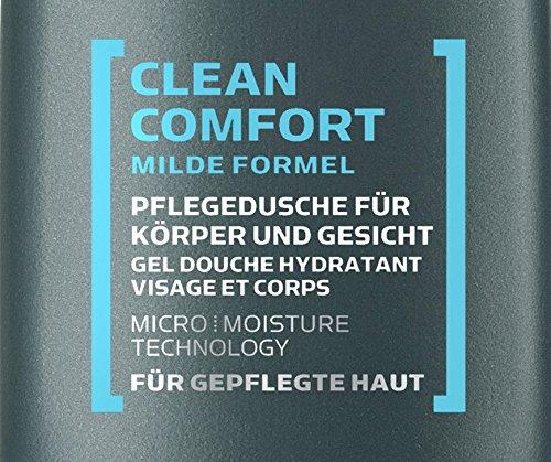 Dove Men+Care Duschgel Clean Comfort Mini, 8er Pack (8 x 55 ml)