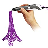 Soyan 3D Printing Pen for Doodling, Prototyping Design and Art Making, Easy to Use, 3D Pen for Beginners