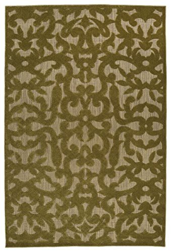 - Kaleen Rugs Five Seasons Collection Olive Rug (2'1 x 4')