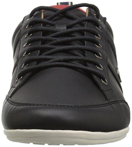 Lacoste Heren Chaymon Sneakers Zwart / Rood Kunststof