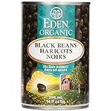Eden Foods Organic Black Beans, 398 ml
