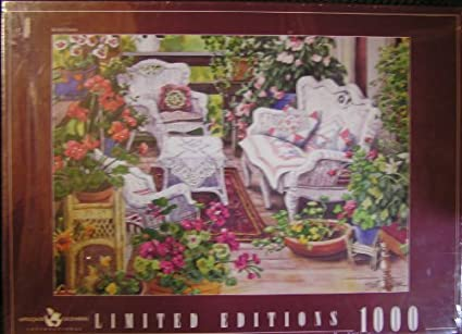 Farmers Market 1000 pc puzzle by sharon ascherl bits and pieces studio puzz;e