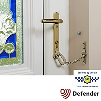 Defender Door Chain for PVCu Doors - Police Approved by Defender  sc 1 st  Amazon.com & Amazon.com: Defender Door Chain for PVCu Doors - Police Approved by ...