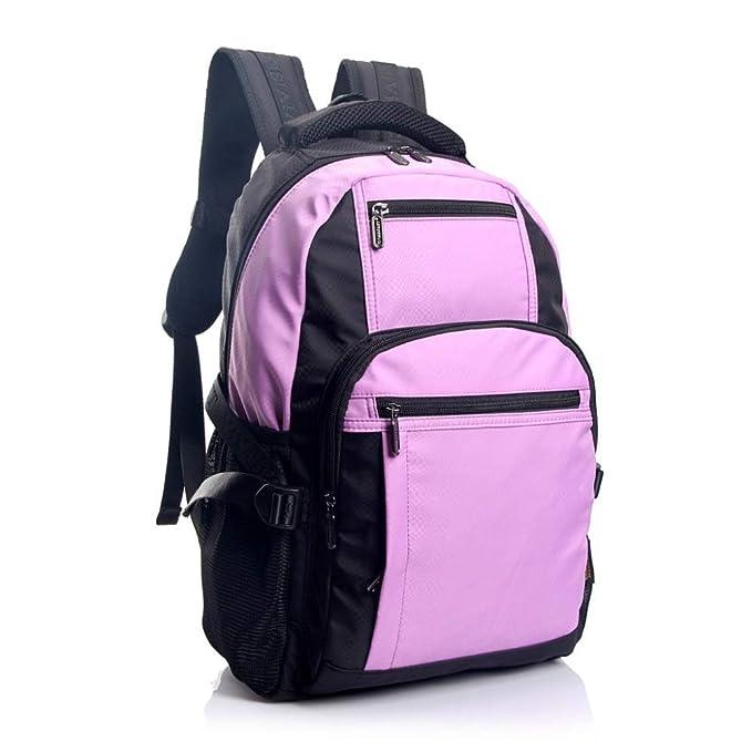 Mochilas Bolsas De Viaje Viajes Ridge A Prueba De Golpes De Nylon Mochila Portátil Para Mujeres Hombres Mochila Para Laptop,Purple-OneSize: Amazon.es: Ropa ...