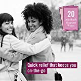 Vagisil maximum strength medicated anti-itch wipes