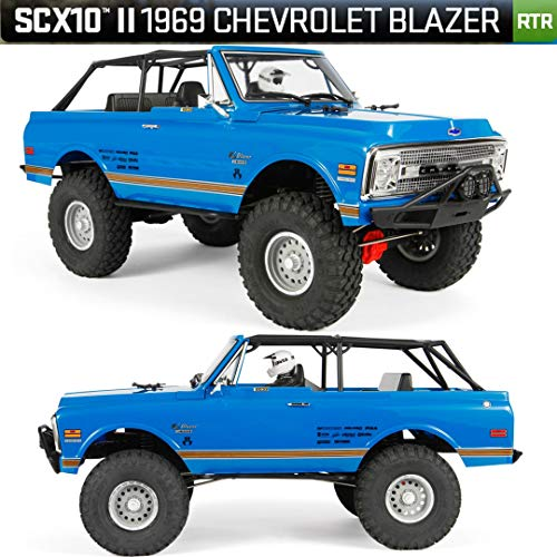 Axial SCX10 II '69 Chevrolet Blazer 4WD RTR RC Rock Crawler Off-Road 4x4, 1/10 Scale (Blue) best to buy