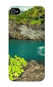 Armandcaron Iphone 5/5s Hybrid Tpu Case Cover Silicon Bumper Venice Falls, Maui, Hawaii