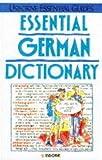 Essential German Dictionary, Kate Needham, 0746010060