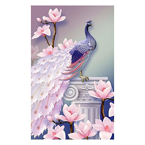 Order Eco Friendly Resin (Cross Stitch Craft Kit ,Awakingdemi 5D DIY Magnolia Flower Animal Resin Diamond Painting Embroidery Home Decor)
