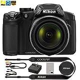 Nikon COOLPIX P510 16.1MP 42x Opt Zoom 3.0 LCD Digital Camera - Black (Certified Refurbished)