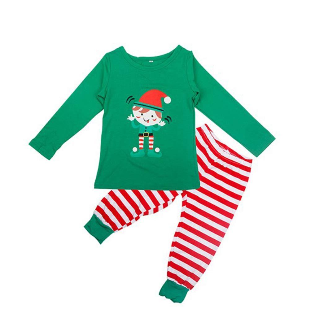 Amily Christmas Pajamas Set, S.Charma Holiday Matching Winter Stripe PJ Sets