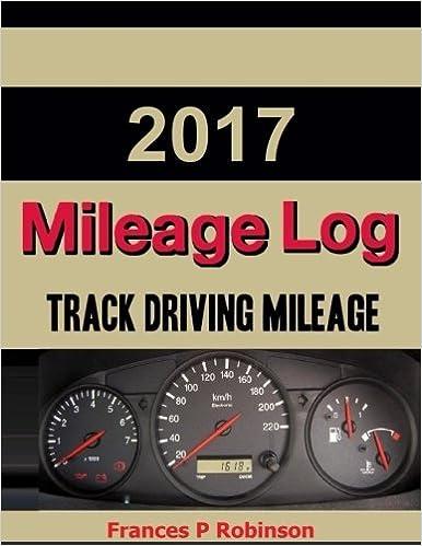 amazon com 2017 mileage log track vehicle miles in this 2017
