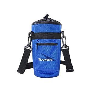 Bluewave Lifestyle GEN3 Water Bottle Carrying Holder Case, Blue, 1 L