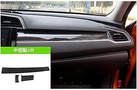 LVBAO Decorazione per Interni in Fibra di Carbonio per Honda Civic Si Decima Generazione 2016-presente