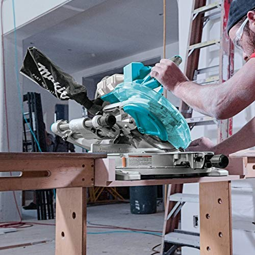 Makita DLS110PT2 Mitre Saw Twin 18v / 36v Cordless Brushless LXT 260mm - 2 x 5.0
