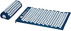 Zensufu Acupressure Mat and Pillow Set for Back and Neck Pain Relief and Muscle Relaxation Massage