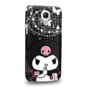 Case88 Premium Designs My Melody & Kuromi Collection 0651 Carcasa/Funda dura para el Samsung Galaxy S4 mini (No Normal S4 !)