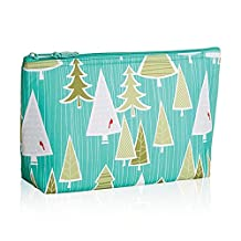 Thirty One Medium Thermal Zipper Pouch in Whimsical Winter - No Monogram - 4363 by Thirty-One