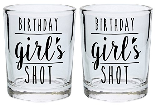 Birthday Glass Women Glasses 2 Pack