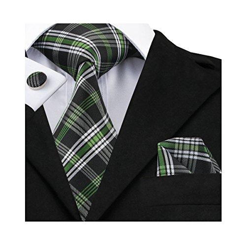 Hi Tie Paisley Necktie Handkerchief Cufflinks product image