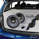 Lanzar MAXP124D Max Pro 12-Inch 1600 Watt Small Enclosure Dual 4 Ohm Subwoofer