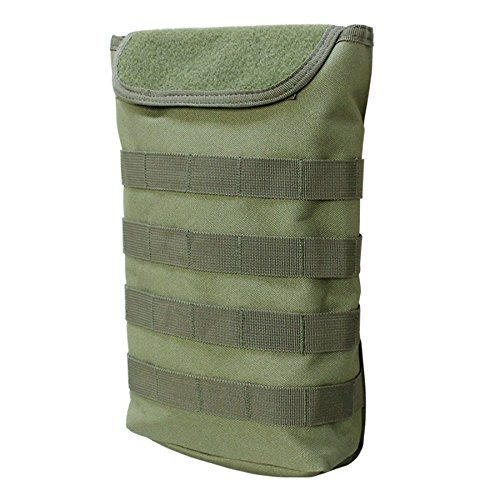 OD GREEN Molle Tactical Pals Compact Hydration Carrier Pouch 2 to 2-1/2L Bladder (Plate Carrier Compact)