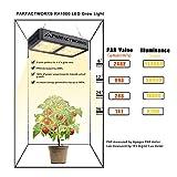 PARFACTWORKS 1000W LED Grow Light Hydroponic LED