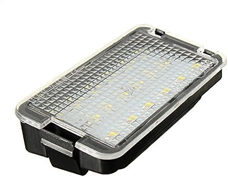 MASUNN 2 x 18 LED Placa de matrícula luz para Seat Altea ...