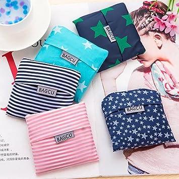 loisleila Juego de 5 bolsas de compras bags-reusable bolsas ...
