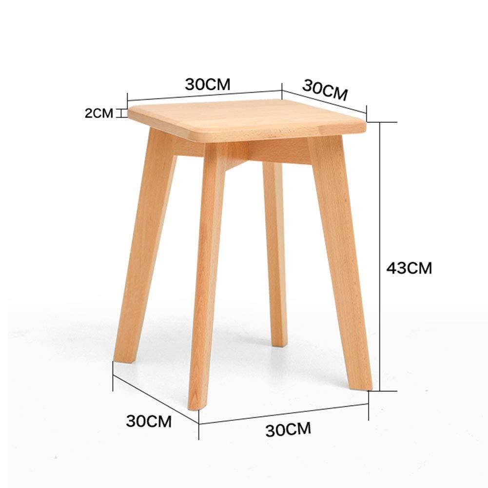 Amazon.com: ZHAOYONGLI taburete de comedor simple y moderno ...