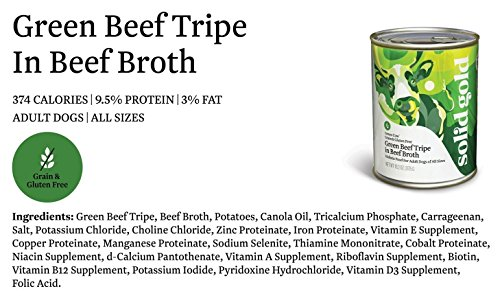 Solid-Gold-Green-Cow-Beef-Tripe-Beef-Broth-Recipe-for-Dogs-Natural-Holistic-Grain-Free-Complete-Balanced-Meal-or-Topper-132-oz-can-12-ct