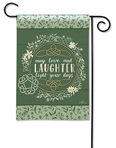 BreezeArt Studio M Celtic Blessing Decorative Irish St. Patrick's Day Garden Flag - Premium Quality, 12.5 x 18 Inches