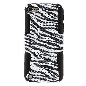 GJY Zebra Stripe Pattern Detachable Hard Case for iPod Touch 5