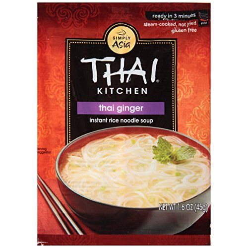Thai Kitchen Gluten Free Thai Ginger Instant Rice Noodle Soup, 1.6 oz (Pack of 72)