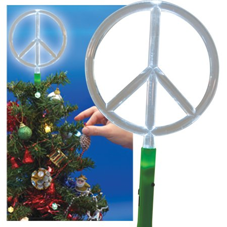 Dci Led Peace Sign Tree Topper Amazon Kitchen Home